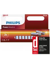 baterie POWER ALKALINE 12ks (LR03P12W/10, AAA, 1,5V)
